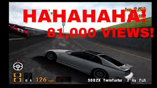 Gran Turismo 3 Like the Wind! 81,000 VIEWS! Thank you so much! Using the 300ZX TwinTurbo 2 by 2!