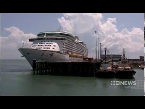 Nine News Darwin - Azamara Quest Maiden Voyage
