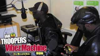 JAH TROOPERS INTERVIEWS SHASHAMANE INT'L (WORLD CUP SOUND CLASH WINNERS 2009)