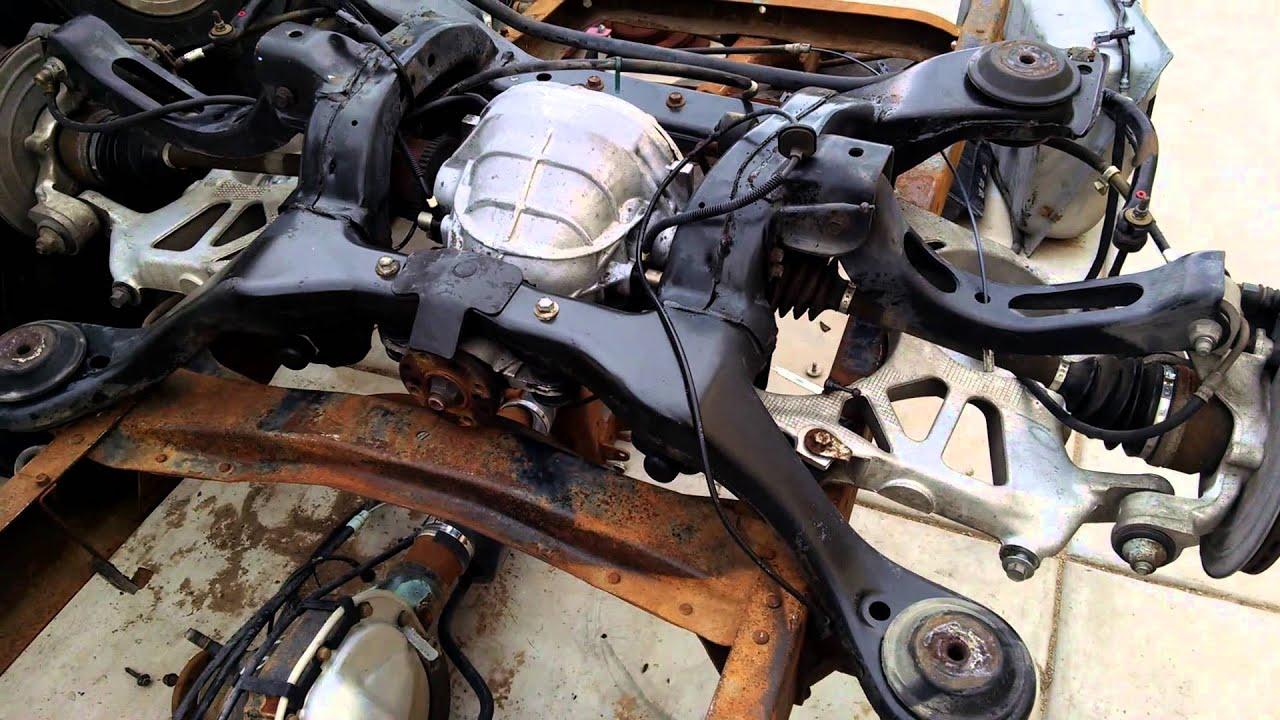 1956 F100 - Crown Victoria IFS install / Mark VIII IRS ...