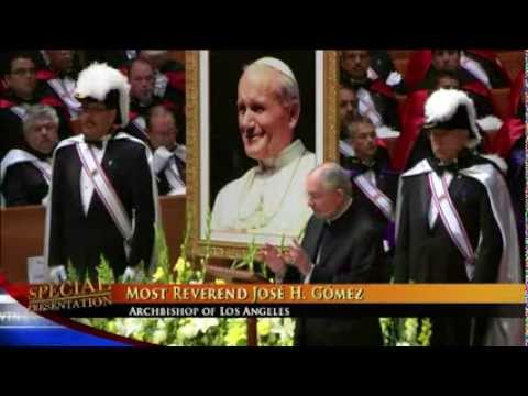 POPE JOHN PAUL II CANONIZATION CELEBRATION AND VIGIL - Los Angeles