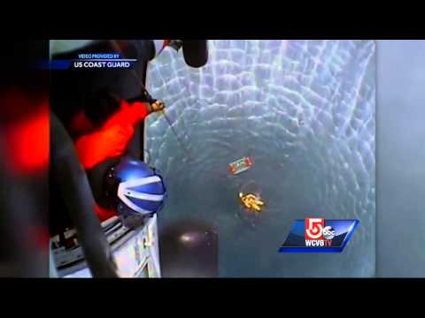 Coast Guard rescue caught on camera