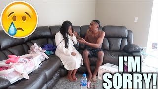 I GOT ANOTHER GIRL PREGNANT PRANK ON GIRLFRIEND‼️ tay & jass