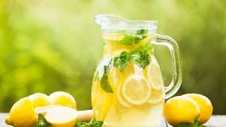 Домашний ЛИМОНАД - Полезный, вкусный и простой рецепт - Easy Homemade Lemonade Recipe
