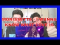 I Wanna Know What Love Is by Morissette Amon with Whistle REACTION MP3