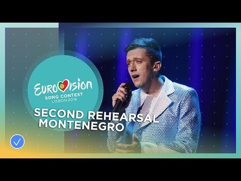 Vanja Radovanović - Inje - Exclusive Rehearsal Clip - Montenegro - Eurovision 2018