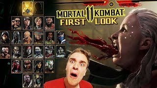 Mortal Kombat 11 Premium Edition. First Reaction and Gameplay on PC. My New Favorite Game (QHD 60p)