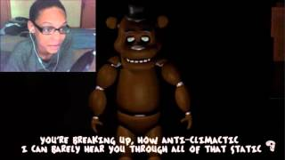 Slenderman Vs Freddy Fazbear Rap Battle REACTION | SICK BURNZ