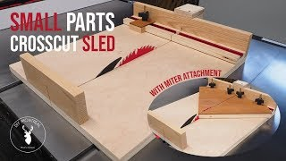 Small Parts Crosscut Sled