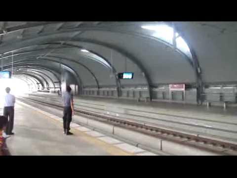 Поезд Бангкок-аэропорт Суванапум (Suvarnabhumi). Часть-1