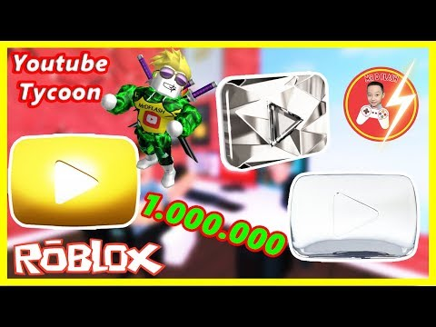 Roblox | MrDFLASH Bộ Sưu Tập Nút Play Youtube - #Roblox YouTube Tycoon | Mr.D-Flash