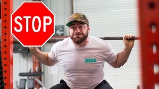 WHY YOU SHOULD STOP LIFTING HEAVY