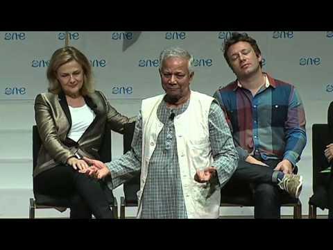 Professor Muhammad Yunus Addresses the One Young World 2012 Summit