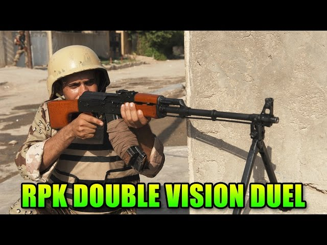 BF4 RPK Duel - The Sniper Of LMGs   Double Vision Battlefield 4