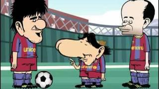 MarcaToons - Messi En La Roja