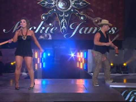 Mickie James Wardrobe Malfunction