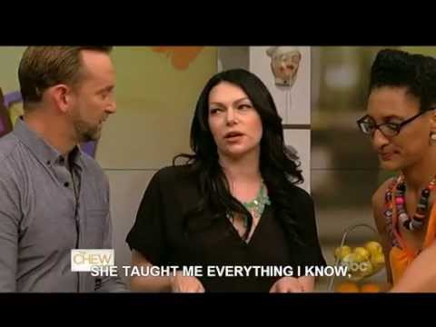 Laura Prepon -The Chew: 11 June 2014