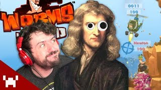 HOW NEWTON REALLY DISCOVERED GRAVITY | Worms WMD w/ Friends