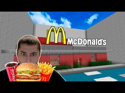 Макдональдс или Бургер Кинг? - Minecraft | Серия №2 | BURGER KING или McDonald's?