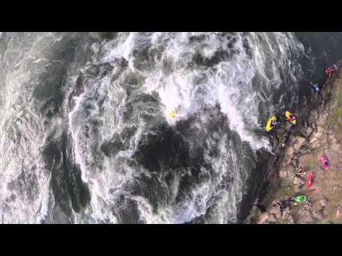 GoPro: Epic Whitewater Freestyle Kayaking on the White Nile, Africa with DJI Phantom