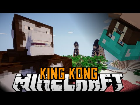 Minecraft mody 1.7.2 #97 KING KONG W MINECRAFT