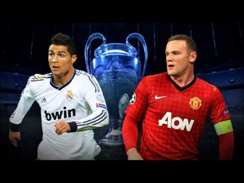 Manchester United vs Real Madrid 05/03/2013 HD