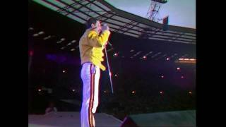 Queen Another One Bites The Dust Live At Wembley 11 07 1986