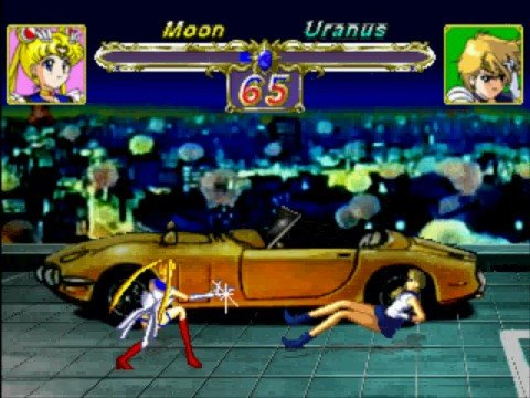 Sailor Moon Vs Sailor Uranus(Playstation)