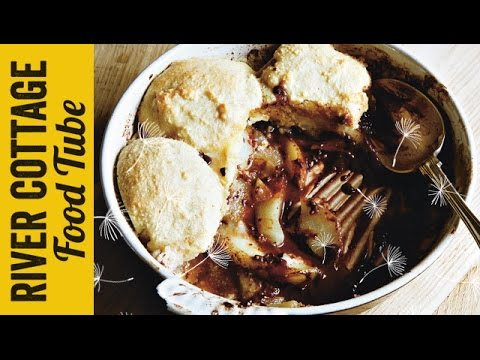 Pear and Chocolate Cobbler | Hugh Fearnley-Whittingstall