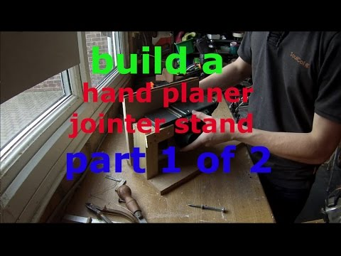 bench mount for POWER PLANER. JOINTER  Part 1 (of 2)