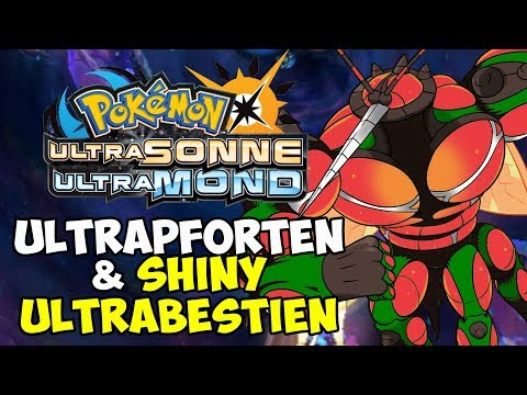 ULTRAPFORTEN: SHINY ULTRABESTIEN + LEGENDÄRE POKEMON! - POKEMON ULTRASONNE & ULTRAMOND TUTORIAL