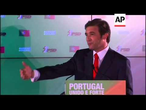 Social Democrats win election; Coelho makes victory speech
