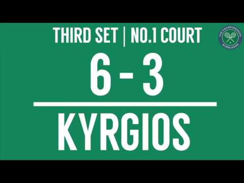 2016, Middle Sunday Highlights, Nick Kyrgios vs Feliciano Lopez