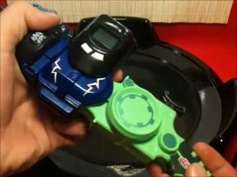 Beyblade Metal Masters  B-201A Wind and Shoot Launcher Review and Test