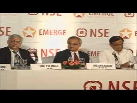 NSE (National Stock Exchange) launch of Emerge - SME platform