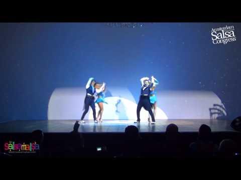 Stockholm Salsa Dance Performance | AISC 2016
