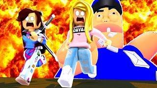 THE MAILMAN BURNED OUR FAN LETTERS! (Roblox)