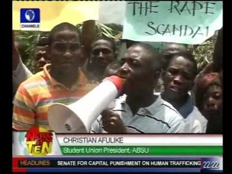 Abia Rape Saga:absu Students Protest Over Accusation video