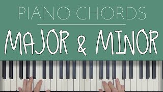 Piano Chords: Major & Minor