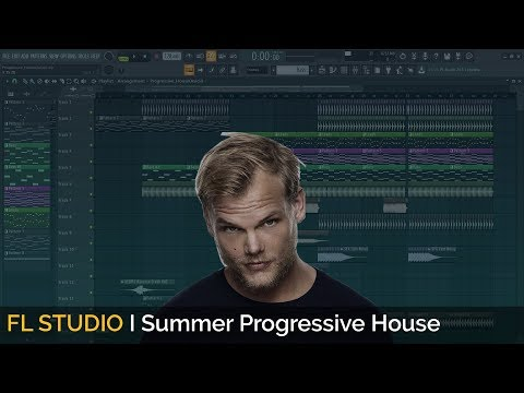 How To Make Summer Progressive House (Avicii Style) [Free FLP]