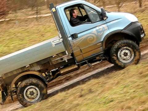 iveco daily 4x4 wading youtube. Black Bedroom Furniture Sets. Home Design Ideas