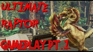 Primal Carnage |Gameplay| Ultimate Raptor (Part 1)