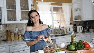 Summertime Salad Recipe - Armenian Cuisine - Heghineh Cooking Show