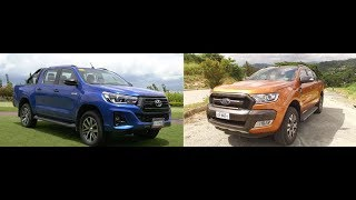 Auto Focus | Head to Head: Toyota Hilux Conquest Vs Ford Ranger Wildtrak