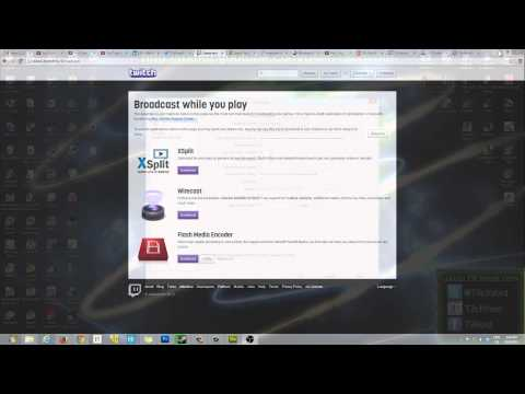 How to Setup Open Broadcaster Software (OBS) for Optimal TwitchTV Streaming (Settings) - Part 1