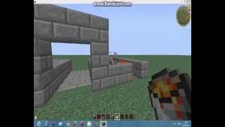 Туториал#1 Как построить раздвижной мост в майнкрафте.
