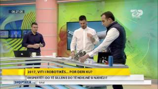 Wake Up, 5 Janar 2017, Pjesa 3 - Top Channel Albania - Entertainment Show