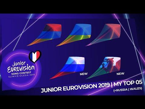 Junior Eurovision 2019 | My Top 05 (So Far) | (+Russia
