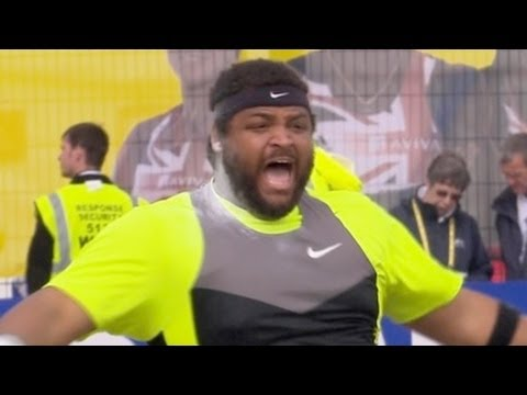 Reese Hoffa wins Shot put in London Diamond League -  Universal Sports