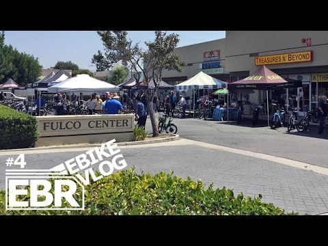 EBIKE VLOG #4 - Open House with Sam at the Electric Bicycle Center